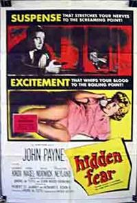 Hidden Fear (1957) Poster