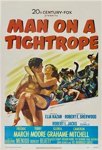 Man on a Tightrope (1953) Poster