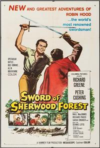 Sword of Sherwood Forest (1960) Poster