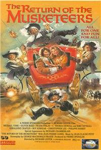The Return of the Musketeers (1989) Poster