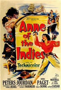 Anne of the Indies (1951) Poster