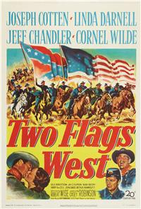 Two Flags West (1950) Poster