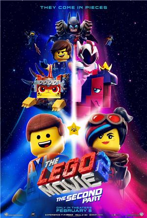 The Lego Movie 2: The Second Part (2019) 1080p Poster