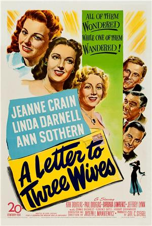 A Letter to Three Wives (1949) 1080p Poster