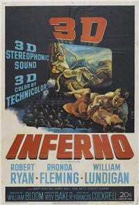 Inferno (1953) Poster