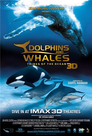 Dolphins and Whales: Tribes of the Ocean (2008) 3D Poster