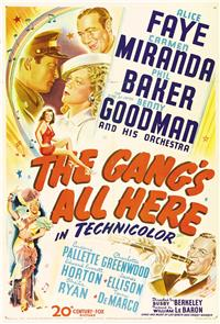 The Gang's All Here (1943) Poster