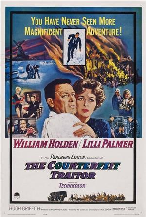 The Counterfeit Traitor (1962) 1080p Poster