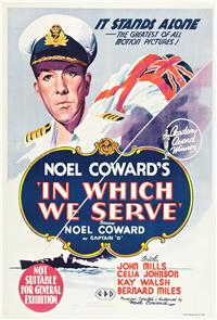In Which We Serve (1942) 1080p Poster