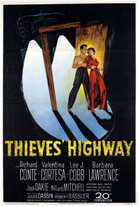 Thieves' Highway (1949) poster