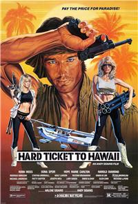 Hard Ticket to Hawaii (1987) 1080p Poster
