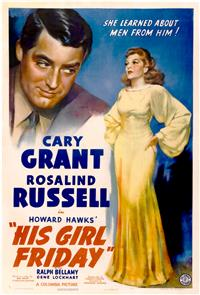 His Girl Friday (1940) Poster