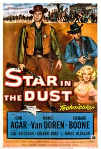 Star in the Dust (1956) Poster