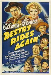 Destry Rides Again (1939) 1080p Poster