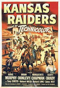 Kansas Raiders (1950) 1080p Poster