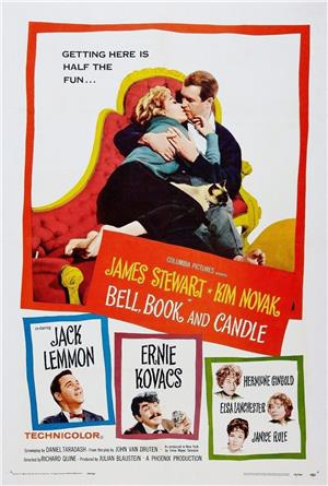 Bell, Book and Candle (1958) 1080p Poster