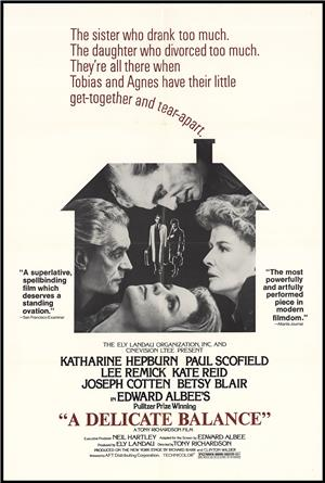 A Delicate Balance (1973) 1080p Poster