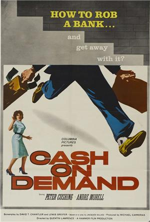 Cash on Demand (1962) 1080p Poster