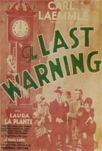 The Last Warning (1928) 1080p Poster