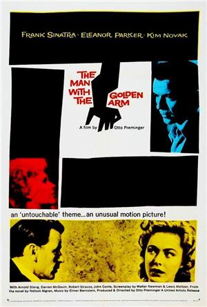 The Man with the Golden Arm (1955) Poster