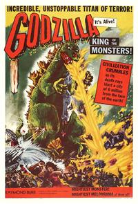 Godzilla, King of the Monsters! (1956) 1080p Poster