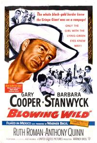 Blowing Wild (1953) Poster