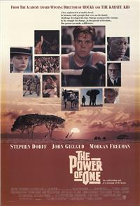 The Power of One (1992) 1080p Poster