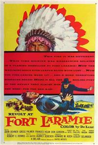Revolt at Fort Laramie (1957) Poster