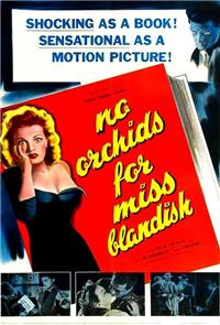 No Orchids for Miss Blandish (1948) Poster