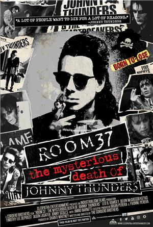 Room 37 - The Mysterious Death of Johnny Thunders (2019) Poster