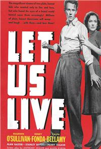 Let Us Live (1939) 1080p Poster