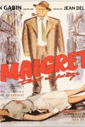 Maigret Lays a Trap (1958) Poster