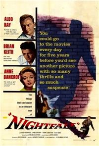 Nightfall (1956) 1080p Poster