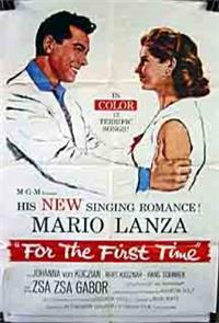 For the First Time (1959) Poster