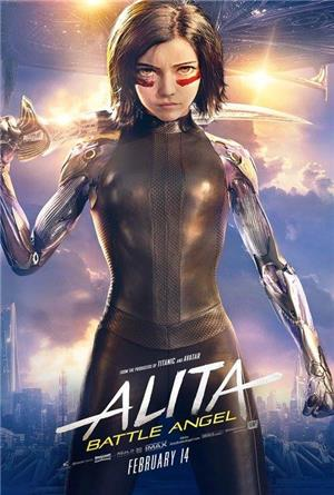 Alita: Battle Angel (2019) Poster