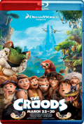 The Croods (2013) 3D Poster