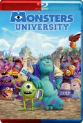 Monsters University (2013) 3D Poster