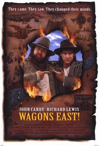 Wagons East! (1994) Poster