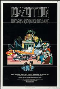 The Song Remains the Same (1976) Poster