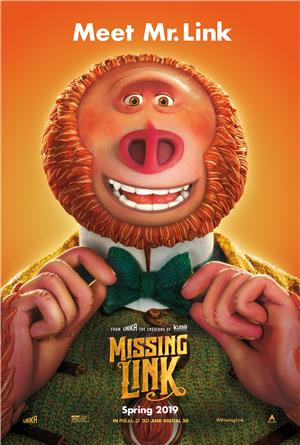 Missing Link (2019) 1080p Poster