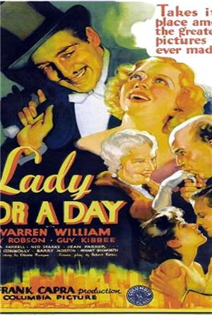Lady for a Day (1933) Poster
