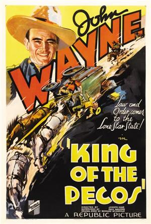 King of the Pecos (1936) 1080p Poster