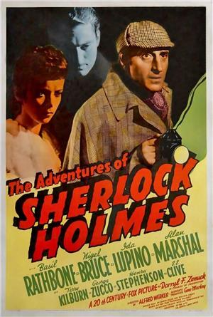 The Adventures of Sherlock Holmes (1939) Poster