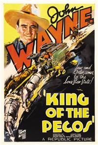 King of the Pecos (1936) Poster