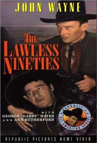 The Lawless Nineties (1936) 1080p Poster