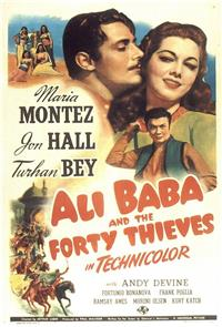 Ali Baba and the Forty Thieves (1944) Poster