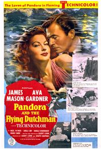 Pandora and the Flying Dutchman (1951) 1080p Poster