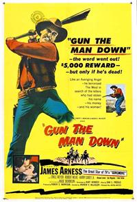 Gun The Man Down (1956) 1080p Poster