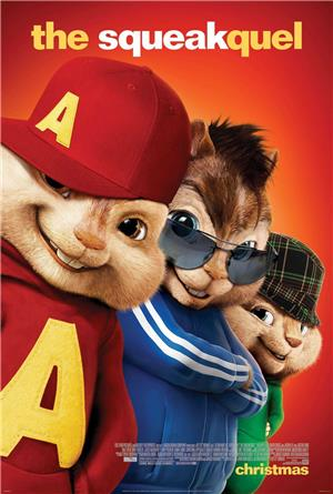 Alvin and the Chipmunks: The Squeakquel (2009) 1080p Poster