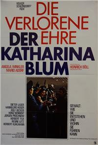 The Lost Honor of Katharina Blum (1975) Poster